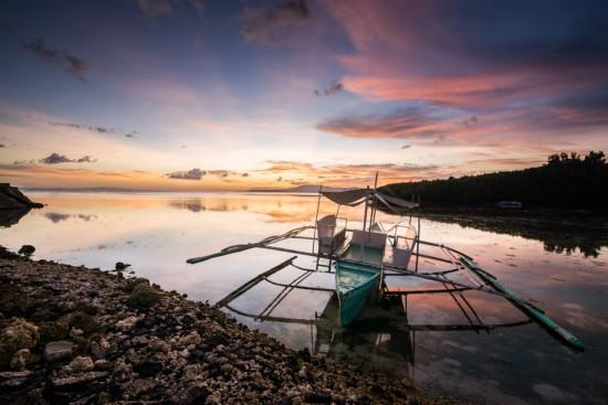 Boat on Bohol island