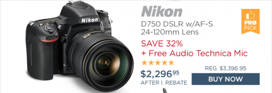 Nikon D750 free mic deal