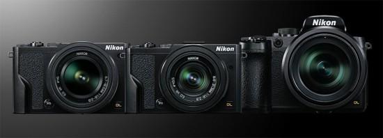 Nikon-DL-cameras