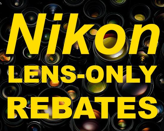 Nikon-lens-only-rebates