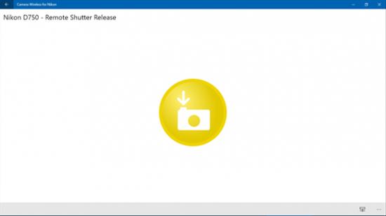Nikon wireless app for Windows 10