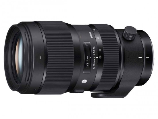 Sigma 50-100mm f:1.8 DC HSM Art lens for Nikon F mount