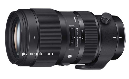Sigma 50-100mm f:1.8 DC HSM Art lens