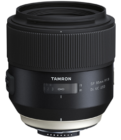 Tamron SP 85mm F:1.8 Di VC USD Model F016 lens