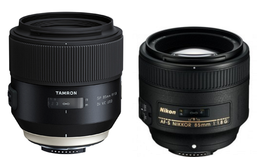 Tamron SP 85mm f/1.8 Di VC USD lens (Nikon F mount) reviewed at DxoMark