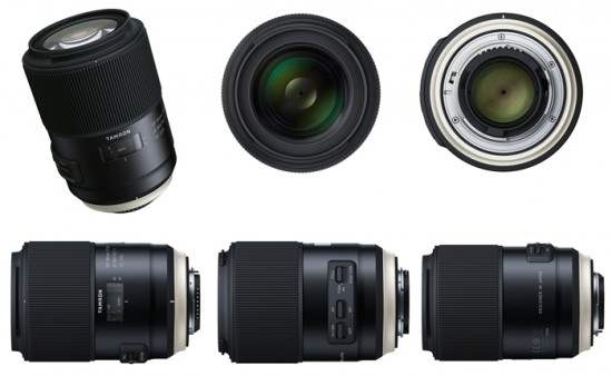 Tamron SP 90mm f/2.8 macro, 85mm f/1.8 Di VC USD lenses, TAP-01 ...