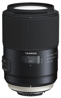 Tamron SP 90mm F:2.8 Di MACRO 1x1 VC USD model F017 lens