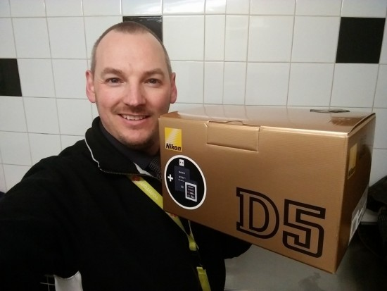 First Nikon D5 owners in Ireland 2