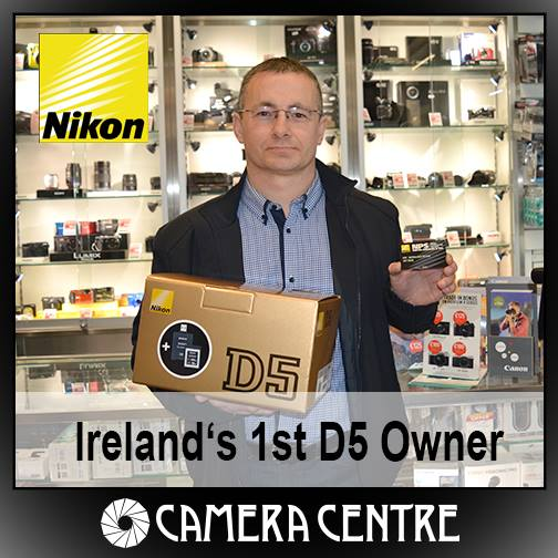 First Nikon D5 owners in Ireland