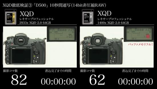 Lexar-XQD-memory-card-test-Nikon-D5-D500