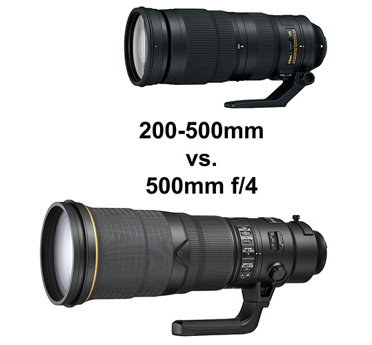 Nikon-200-500mm-f5.6E-zoom-vs.-500mm-f4E-prime-lens-comparison