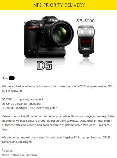 Nikon-D5-NPS-shipping