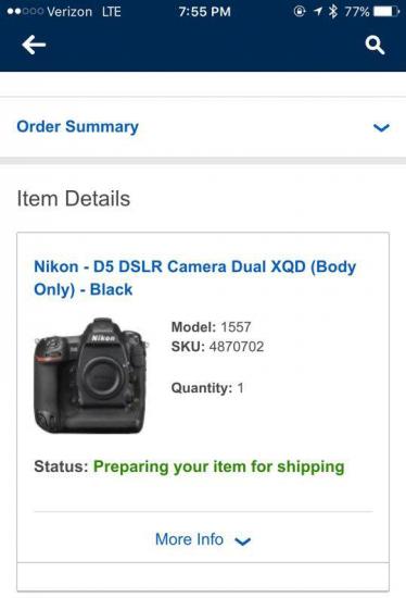 Nikon-D5-shipping-BestBuy