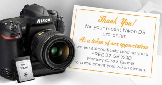 Nikon-D5-to-come-with-free-XQD-card-and-reader