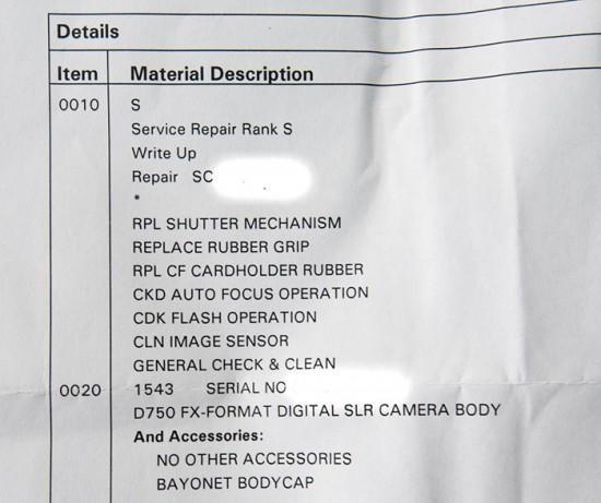 Nikon-D750-camera-reacall-repair-list