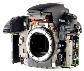 Nikon D800 022 Disassembly Teardown & Review
