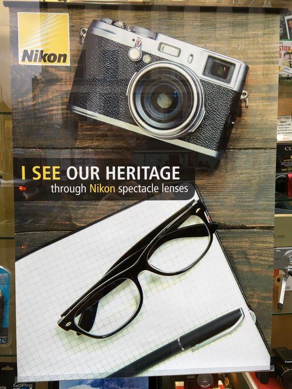 Nikon Fuji ad screwup