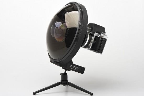 Nikon Nikkor 6mm f:2.8 fisheye lens