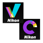 Nikon ViewNX-i & Capture NX-D logo