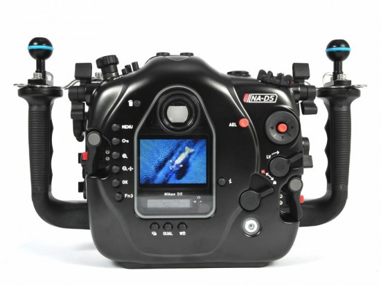 Nauticam NA-D5 underwater housing for Nikon D5 DSLR camera