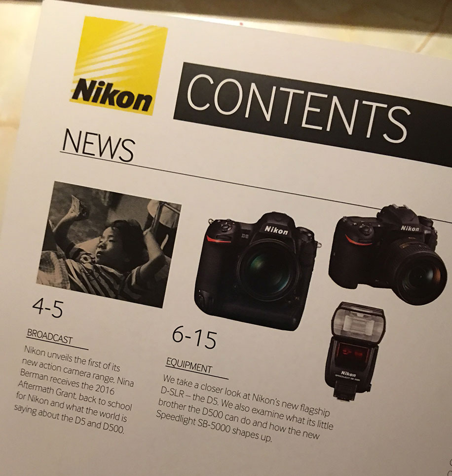 Nikon D5 firmware update to extend the 4k video recording