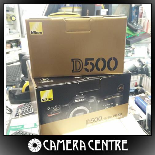 Nikon D500 shipping in Europe