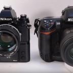 Nikon-F3H-vs-Nikon-D3-shutter-sound