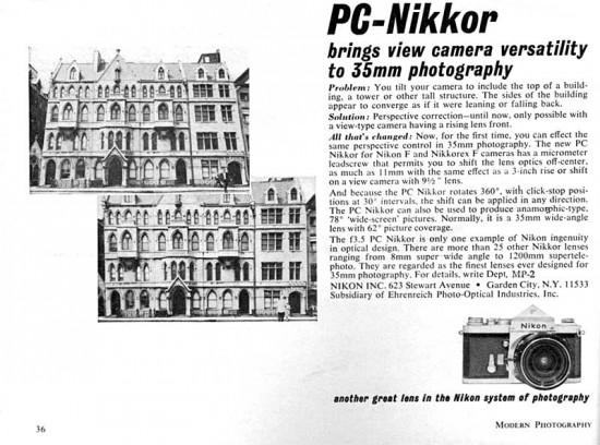 PC-Nikkor-1965