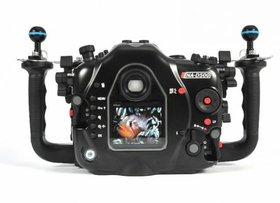 Nauticam NA-D500 underwater housing for Nikon D500 camera 2