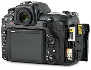Nikon D500 XQD and SD memory card speed comparison