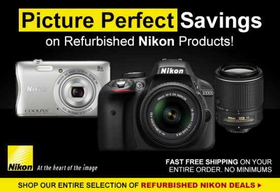 Nikon refurbished deals