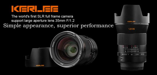 DZoptics-Kerlee-35mm-f1.2-full-frame-manual-focus-DSLR-lens