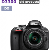 Nikon-D3300-camera-listed-as-discontinued