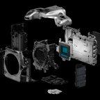 Nikon D500 camera guts parts