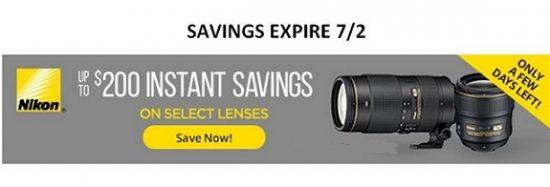 Nikon reabtes expire