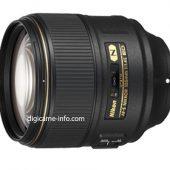 Nikon AF-S Nikkor 105mm f:1.4E ED lens