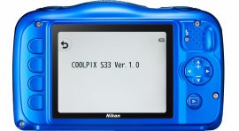 Nikon Coolpix S33 camera firmware update
