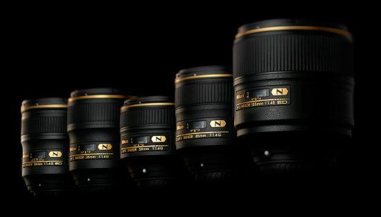 Nikon-Nikkor-f1.4-lenses