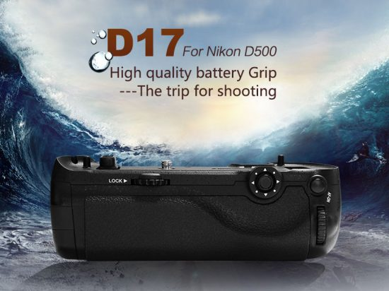 Pixel-Vertax-D17-battery-grip-for-Nikon-D500