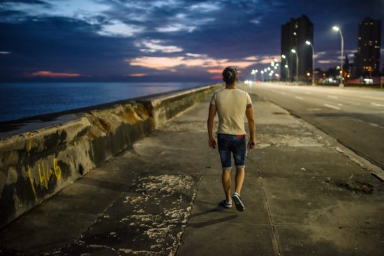 Walking on the Malecón