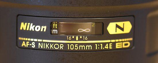 Nikon-AF-S-Nikkor-105mm-f1.4E-ED-lens-label