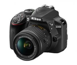 Nikon D3400 DSLR camera 4