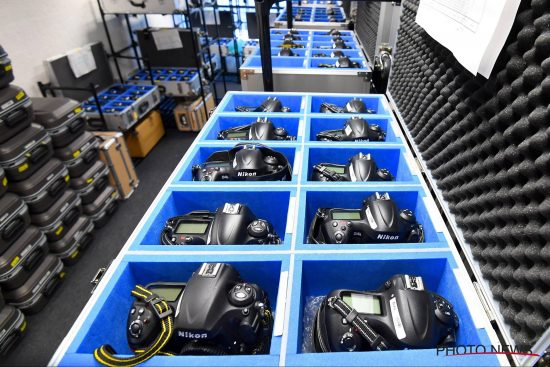 Nikon (NPS) stockpile at the 2016 Rio Olympic Games 1