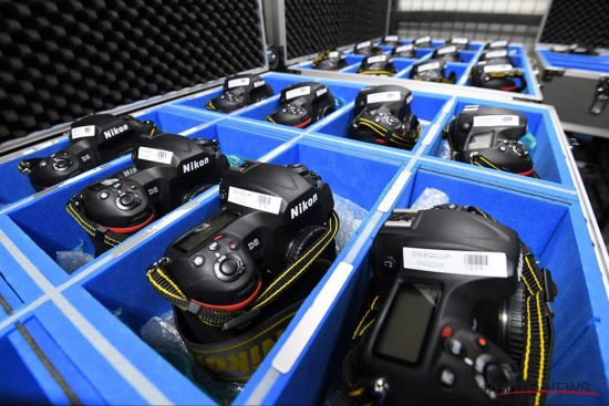 Nikon (NPS) stockpile at the 2016 Rio Olympic Games 4