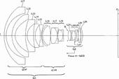Nikon Nikkor PC-E 19mm f:4 tilt shift lens patent