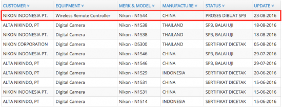 Nikon-wireless-remote-controller