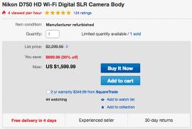 Refurbished-Nikon-D750-deal-eBay