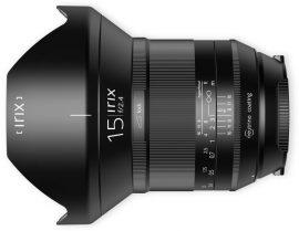Irix 15mm f:2.4 lens