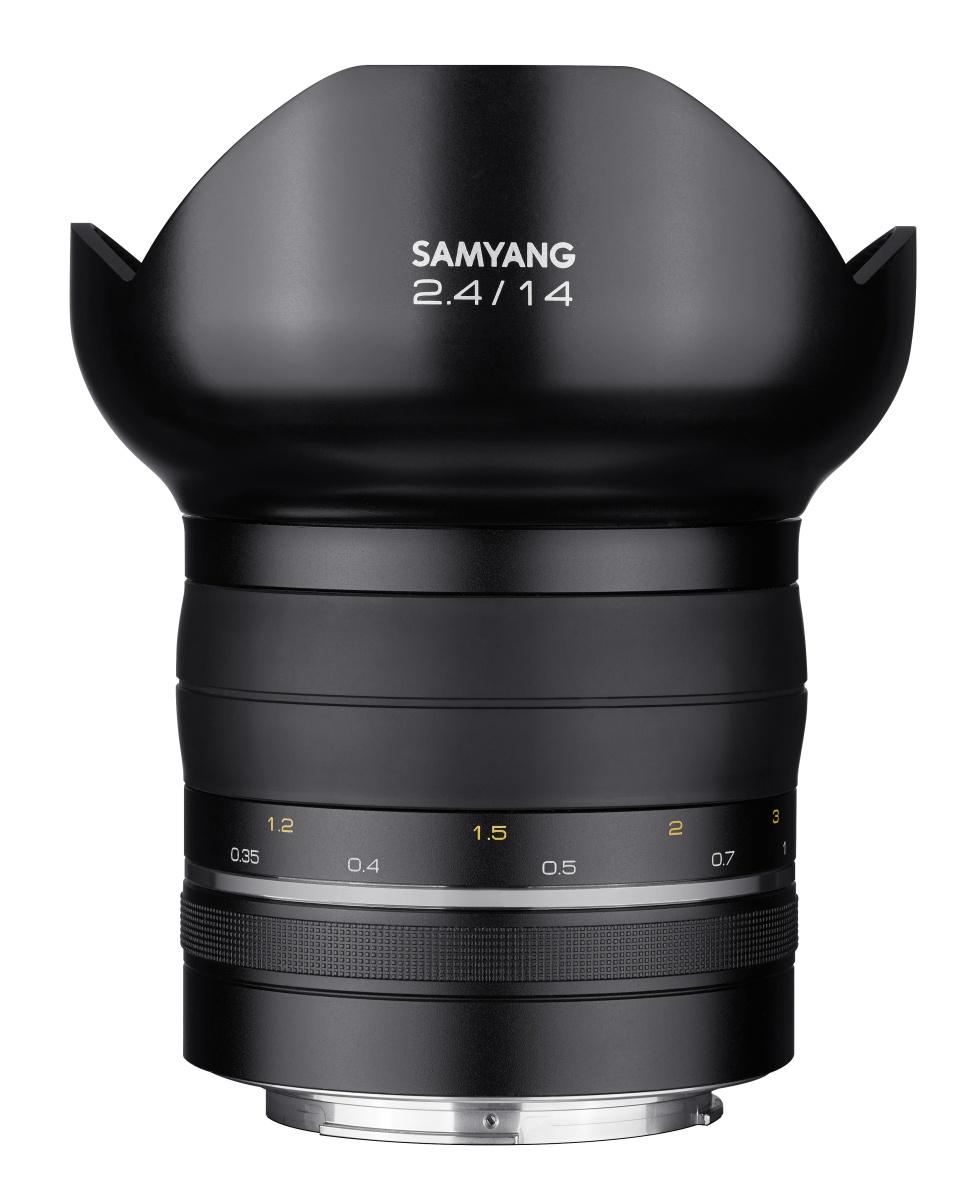 Samyang starts a new line of premium lenses 14mm f 2 4 for Samyang 14mm nikon