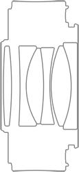 Tamron Teleconverter 1.4x (Model TC-X14) design